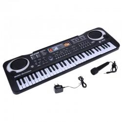 61 Tasten - digitale elektronische Tastatur - E-Piano für Kinder - EU-Stecker