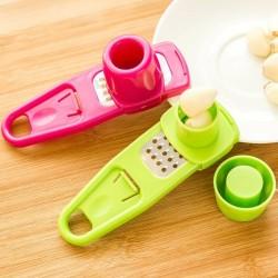 Ginger - garlic - grater tool - silicone peeler - slicer