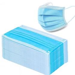 Einweg-Gesichts- / Mundmasken - 3 Schichten - Staubschutz - antibakteriell