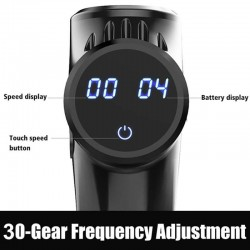 LCD Display High frequency Massage Gun muscle body relax relaxation 30 Speed Vibration