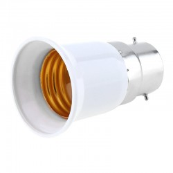 B22 to E27 light bulb converter adapter