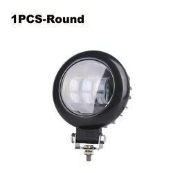6D lens - 5 inch - 30W 12V - LED light bar - reflector for 4x4 ATV SUV trucks - spot / fog light - halo - driving lights
