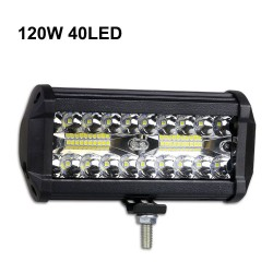 60W - 420W - LED light-bar - combo spotlights for trucks - off-roads - tractors - 4x4 SUV - ATV - boats