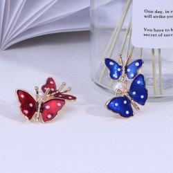 Spring Double Butterfly Brooches