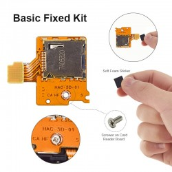 Micro SD card slot reader module - for Nintendo Switch - repair part - pro kit