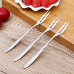 Stainless steel - two tine fork - tableware - 1pcs - 5pcs - 10pcs