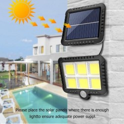 150COB - 128COB - 120COB - 100COB - Solar Light - Outdoor - Wall Light - Security Lamp - Remote Controlled