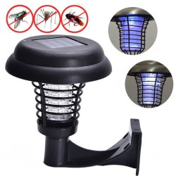 LED - Solar Powered - Outdoor - Anti Mosquito Zapper - Trapping Lantern Lamp