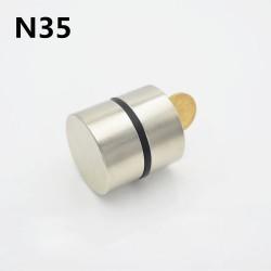 N52 - N35 - neodymium magnet - round - 40 x 20mm - 2 pieces