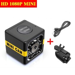 1080P - full HD camera with microphone - auto focus - night vision - motion detection
