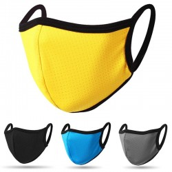 3 pieces - protective face / mouth mask - dust-proof - reusable
