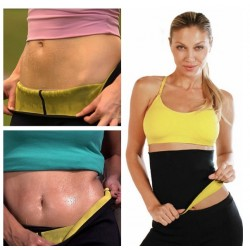 Body shaper - stretch neoprene slimming waist belt