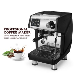 Coffee maker machine with milk frother for espresso / cappuccino - 15 Bar - 220V