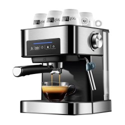 Coffee machine - milk frother - coffee grinder - 20 Bar - 220V