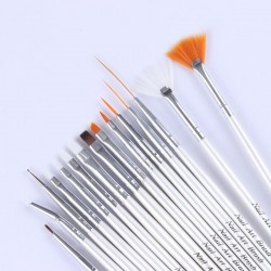 Nail art brushes - nail design - manicure - 15 pieces