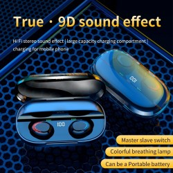 Bluetooth 5.0 - Earphones - 3000mAh - Charging Box - Wireless Headphone - 9D Stereo