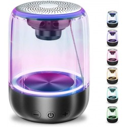 C7 Bluetooth 5.0 Speaker - Portable - Wireless - 7-Color Breathing Light