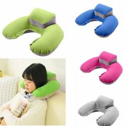 U-Shape - Travel Pillow - Inflatable - Neck Pillow