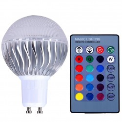 5W - RGB - E27 - GU10 - E14 - MR16 - LED bulb - remote controller - dimmer