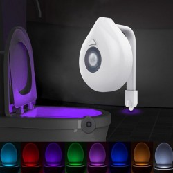 LED - toilet seat - night light - 8 colors