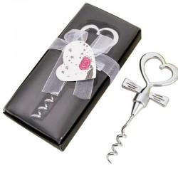 Wine bottle opener - heart shaped handle