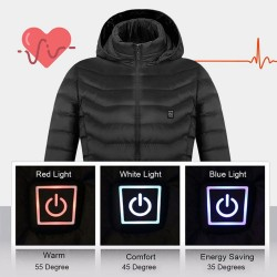 USB infrared heating jacket - electric heating