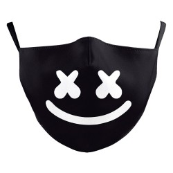 Mouth / face protective mask - PM2.5 filters - reusable - music DJ
