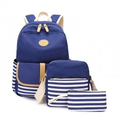 School backpack for kids - lunch bag - pencil case - 3 pieces set