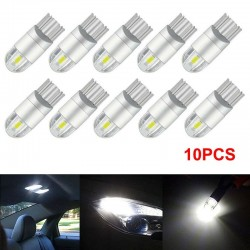 T10 - 3030 - 2SMD - 12V - LED - car light bulb - white