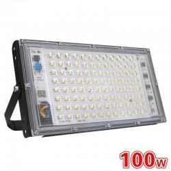 100 W - AC 220 V 230 V 240 V - LED-Scheinwerfer - IP65 wasserdicht - Außenreflektor