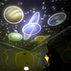 LED starry sky projector - night light - rotatable