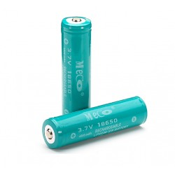 3.7v 4000mAh rechargeable 18650 Li-ion Battery 2 pieces