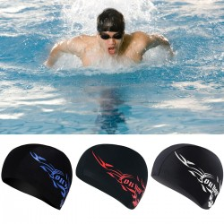 Adult swimming cap - long hair protection - spandex - unisex