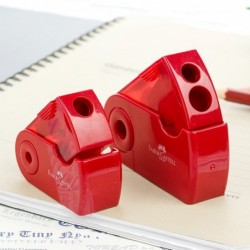 Pencil sharpener - with single / double hole