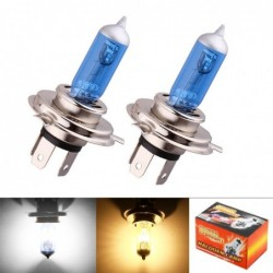 Halogen car bulb - H4 - 55W - DRL - 2 pieces