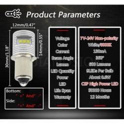 P13.5S / E10 - LED-Lampe - 6000K weiß - für Taschenlampe