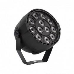 RGBW / UV disco light - LED - wireless - 36W - with remote control