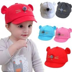 Kids cap - snapback with cat ears