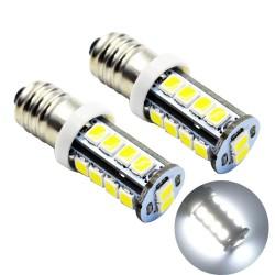 E10 - 1447 - LED bulb - 6V / 12V - 2835SMD - 2 pieces