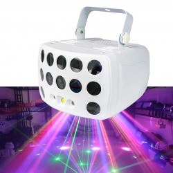 Laser strobe light - RGBW - LED - for stage / parties / clubs