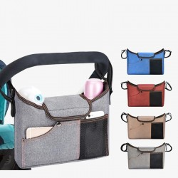 Baby stroller care bag - with mesh pockets / bottle storage