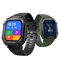 KOSPET ROCK - Smart Watch - Bluetooth - Android / IOS - wasserdicht - Fitness-Tracker - Blutdruckmessgerät