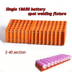 18650 Akkuhalterung - einreihig - starker Magnet - für Akku Punktschweißgerät