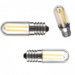 Mini LED bulb - dimmable - COB - E12 / E14 - 1W / 2W / 4W - for fridge / freezer
