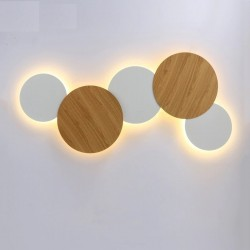 Modern Nordic style - LED light - round wall lamp