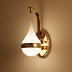 Moderne LED-Wandleuchte - Wandleuchte - Goldeisen