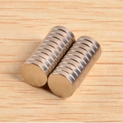 N40 Neodymium Magnet Strong Cilinder 8 * 2mm - 20 pcs |