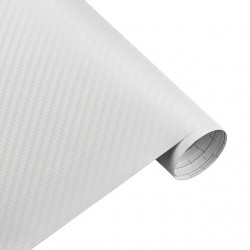 Car Motorcycle 3D Carbon Fiber Vinyl Sheet Roll Sticker 30 * 127cm