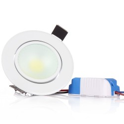 3W COB LED Ceiling Spot Light AC220V