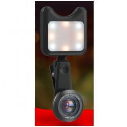 iPhone 3 in 1 Camera Wide Macro & Led Light Lens Kit